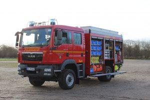 Tanklöschfahrzeug TLF 3000 der Freiwilligen Feuerwehr Horst (Holstein)
