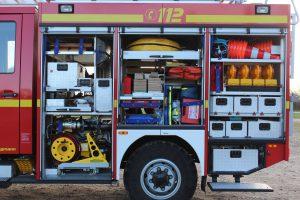 Gerätewagen GW der Freiwilligen Feuerwehr Horst (Holstein)