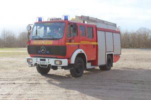 Löschgruppenfahrzeug LF 16/12 der Freiwilligen Feuerwehr Horst (Holstein)